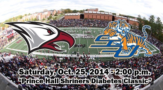 NCCU Football hosts SSU 2014