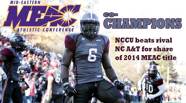 Ty Brown Celebrates MEAC Title