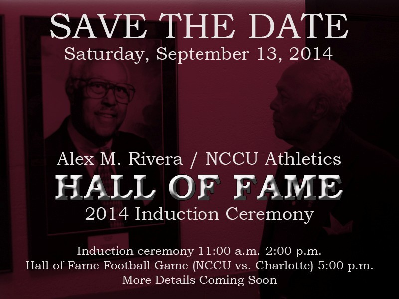 SAVE THE DATE - Hall of Fame 2014