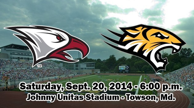 NCCU Football at Towson 2014