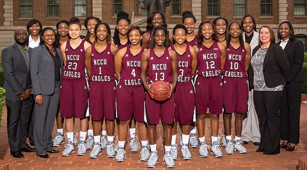 NCCU women's basketball 630x350