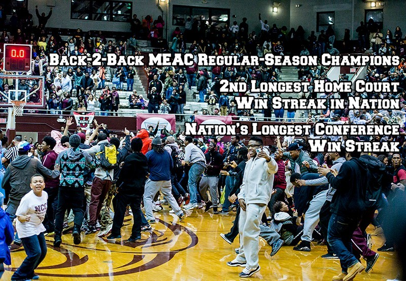 NCCUMBB Wins MEAC Regular Season Title 2015