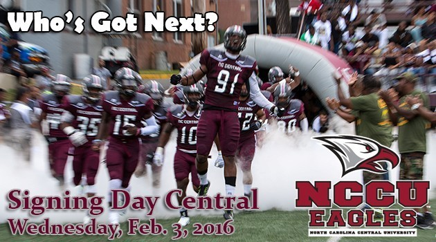 NCCU Football Signing Day 2016
